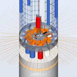 Castor Verguss im DBHD 1.4.3 Luft-und Wasser-gekühlte Baustelle