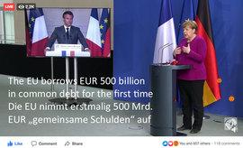 Die EU nimmt gemeinsame Schulden auf - Verwendung ?
