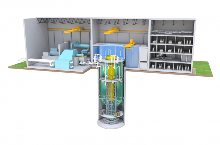 small modular reactor ? for your garden from the US