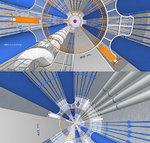 Blick in den DBHD Zugangs-Schacht - Blick nach oben, Blick nach unten