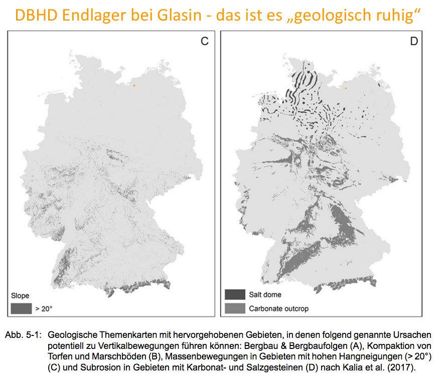 """>>> DBHD_bei_Glasin_in_geologischer_Themenkarte_Minimale_Vertikal-Bewegungen - """"bei Glasin"""" ist es """"geologisch schön ruhig"""" - #Standort #Endlager #beiGlasin #NorddeutschesBecken #DBHD"""
