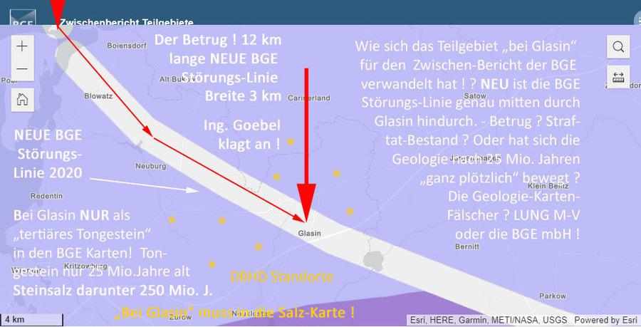 Dokumentation BETRUGS-VERSUCH von LUNG M-V und oder BGE mbH