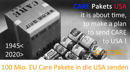 it is about time now to send CARE Pakets to the USA