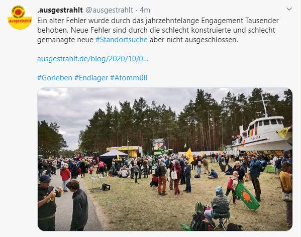 Ausgestrahlt und BI Lüchow-Danneberg berät sich bei Gorleben