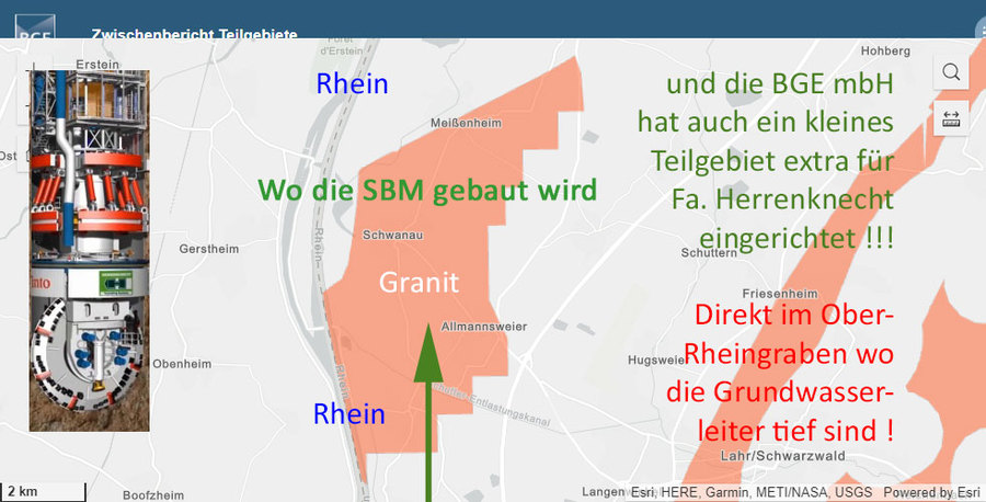 >>> Die tiefsten Grundwasser-Leiter hat es im Ober-Rhein-Graben - genau dort ! markiert die BGE mbH ein Teilgebiet für Endlager in Granit - Extrem Dämlich ! - #BGE #Rhein #Herrenknecht #SBM - https://lnkd.in/dktqWHd - #AUFWACHEN