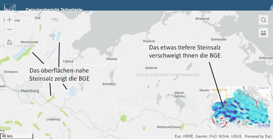>>> Was die BGE verschweigt ! - Das oberflächen-nahe Steinsalz zeigt die BGE - Das tiefere Steinsalz verschweigt die BGE - Warum ? - #BGE #zeigen #verschweigen #Betrug # - https://lnkd.in/dKEtg2E - Die BGE mbH zeigt nur feuchte Geologien