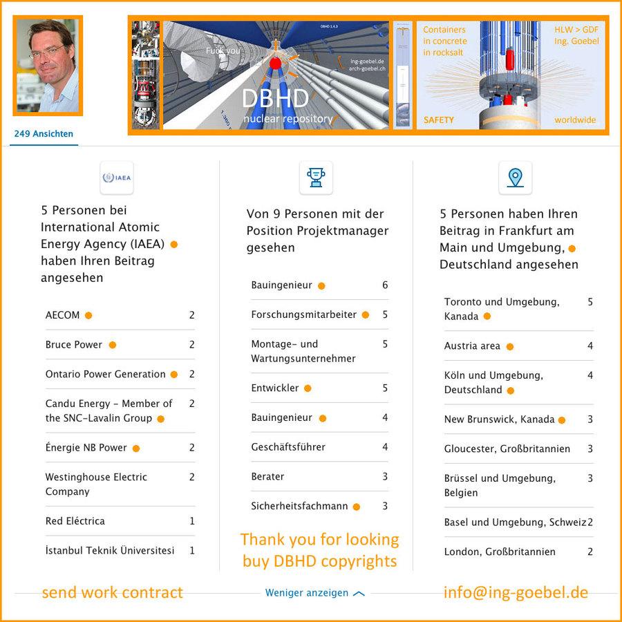 ein internationales Fachpublikum verfolgt die DBHD Entwicklung