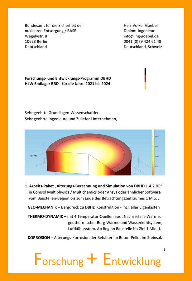 Forschungs- und Entwicklungs Strategie 2021 - 2024 DBHD