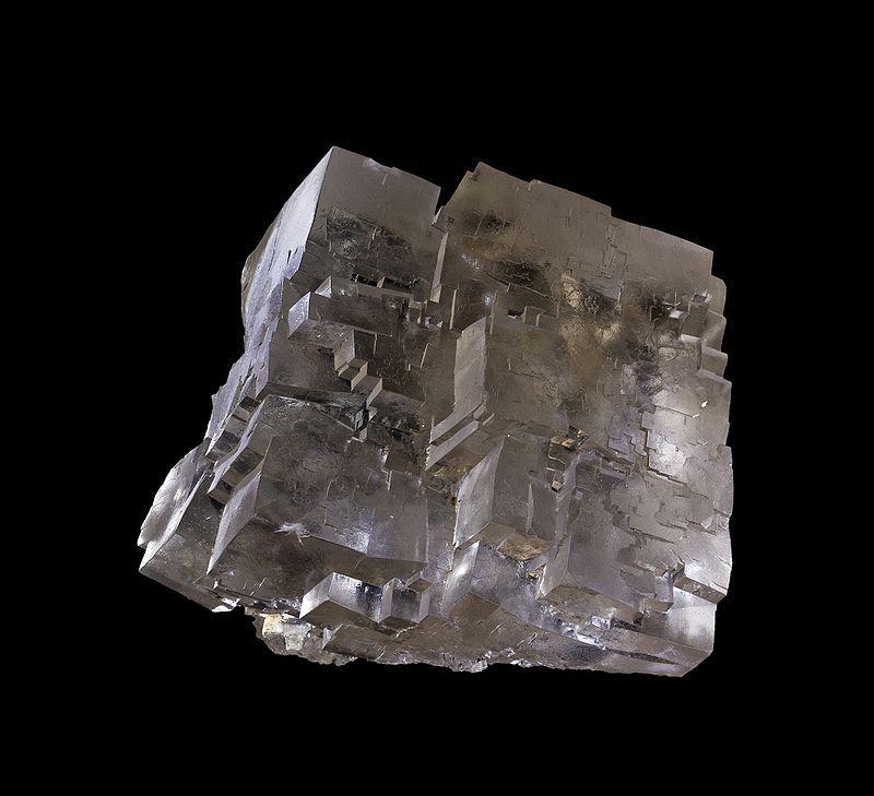 Steinsalz freigewaschen - Bild aus der DBHD Endlager Entwicklung
