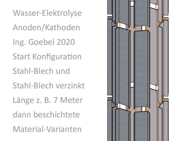 Wasser-Elektrolyse Details Ing. Goebel
