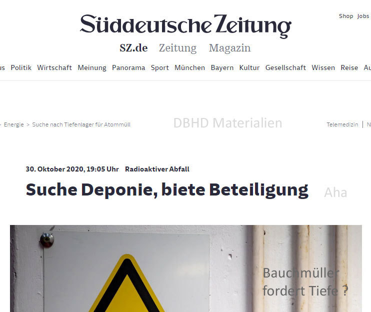 ">>> award winning journalist from the biggest newspaper for south Germany writes a title after saying nothing for 1 year ! - ""Suche Deponie - biete Beteiligung"" - a day later Ing. Goebel was contacted by US Mafia - #Bauchmüller #SZ #Germany #GDF #Discussi"
