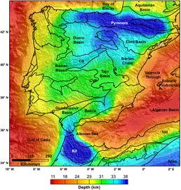Geologie Spanien