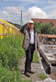 the building site engineer - Archi McGoebel