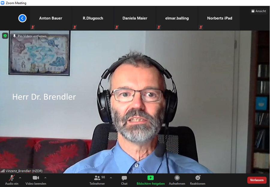 Herr Brendler - Dresden kommt immer stärker mit rein