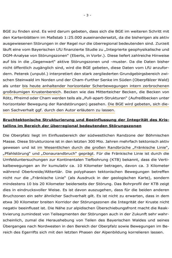 Stellungnahme-der-Oberpfälzer-Bürgermeister und Ländräte an-die-BGE-GmbH---Kristallin-ist-klüftig
