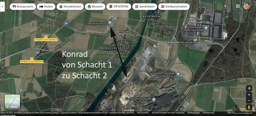 Konrad Tonüberdeckung und Wassereinbruch an Schacht 2