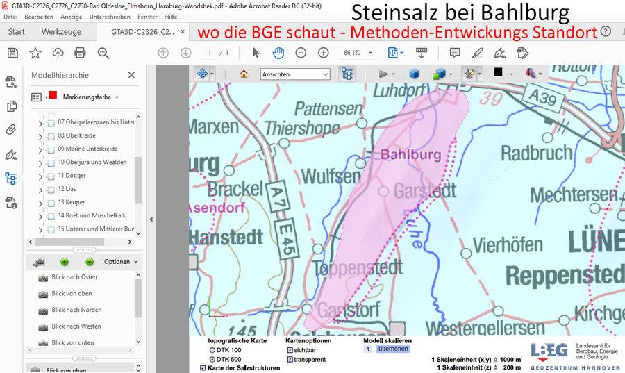 Steinsalz Bahlburg - von Ing. Goebel im Rahmen der Standort-Auswahl für Endlager betrachtet und kommentiert