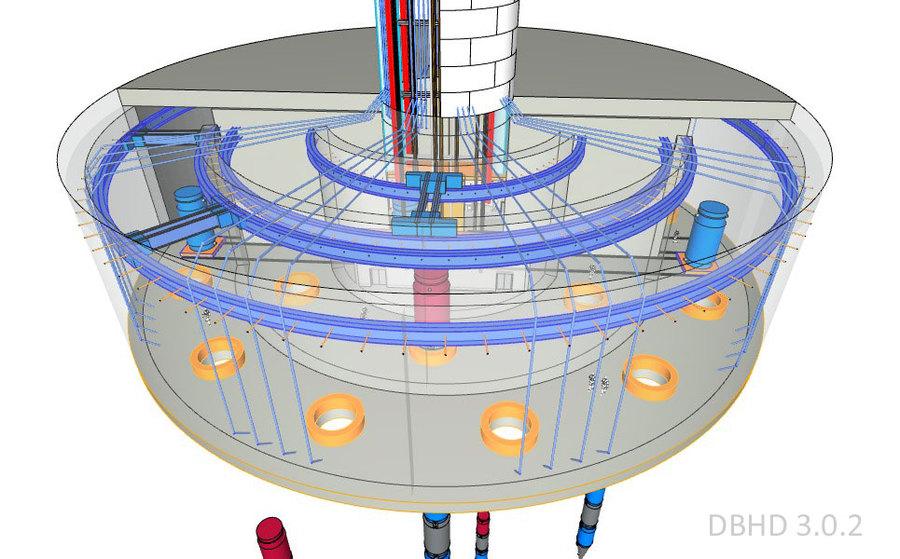 DBHD 3.0.2 Drop-It Endlager für Tiefsalz - DBHD 3.0.2 GDF for Deep Rocksalt - by Ing. Goebel