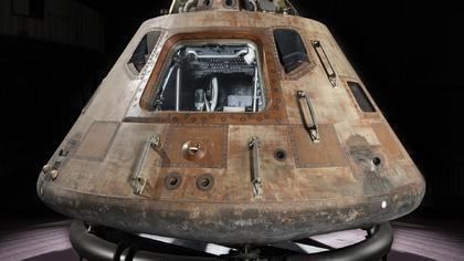 Form der Apollo Kapsel